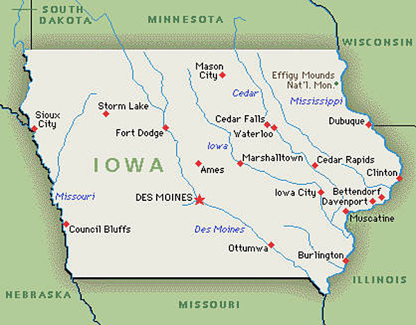 Where to Caucus in Iowa