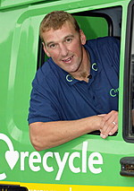 "Matthew Pinsent Launches ""Recycle Now"" Campaign"