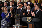 President Obama Welcomes World Series Champion Chicago Cubs To White House